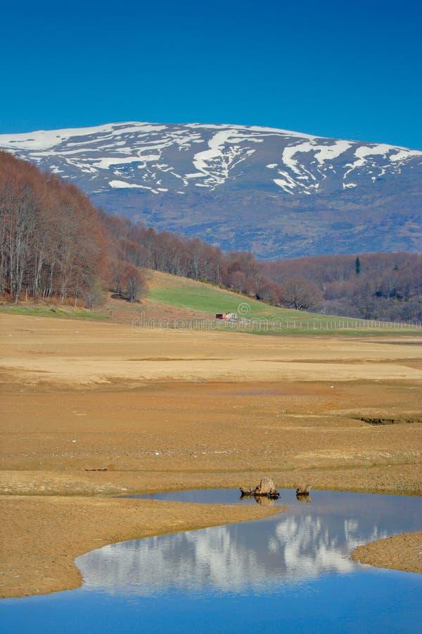 region mavrovo krajobrazu zdjęcia royalty free