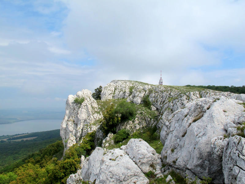 Region Palava (republika czech) obraz stock