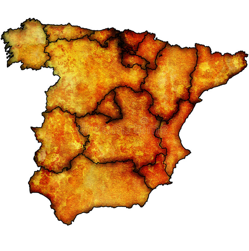 Region Of Spain Stock Image