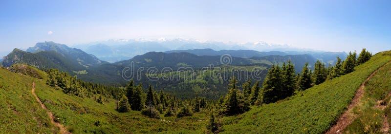 Region von Entlebuch, die Schweiz, Vorberge der Alpen stockbilder