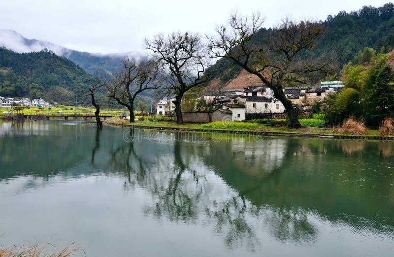 Region z rzekami w sen obrazy royalty free