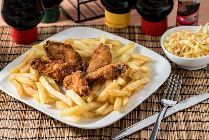 Regional African Food royalty free stock image