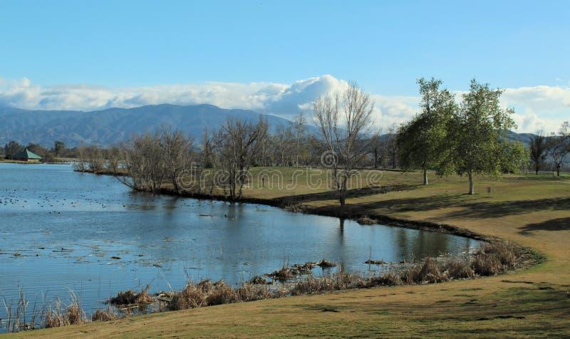 Regionaler Park Prado, Chino, San Bernardino, Kalifornien lizenzfreies stockfoto