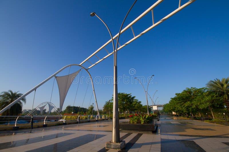 Regionalt parkera i Indore Indien royaltyfria foton