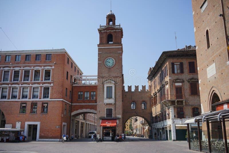 Regione del della del palazzo de Ferrara fotografía de archivo libre de regalías