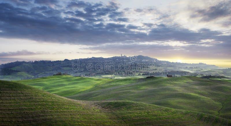 Regione della Toscana in Italia fotografia stock libera da diritti