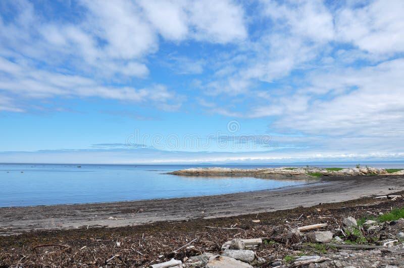 Regione di Charlevoix, Quebec, Canada immagini stock libere da diritti