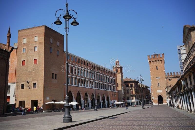 Regione di della di palazzo di Ferrara fotografie stock