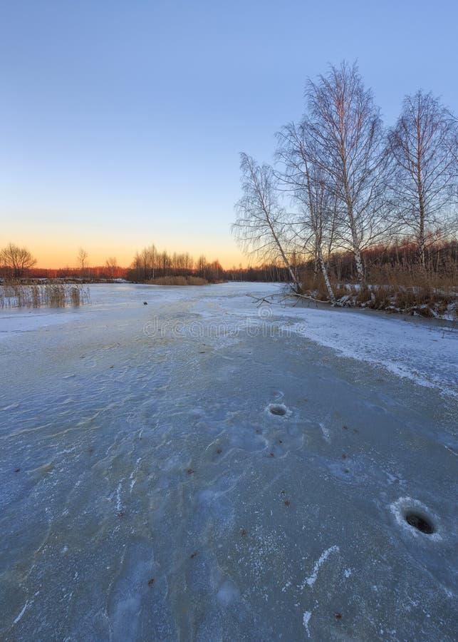 Regione di Mosca, Russia immagine stock