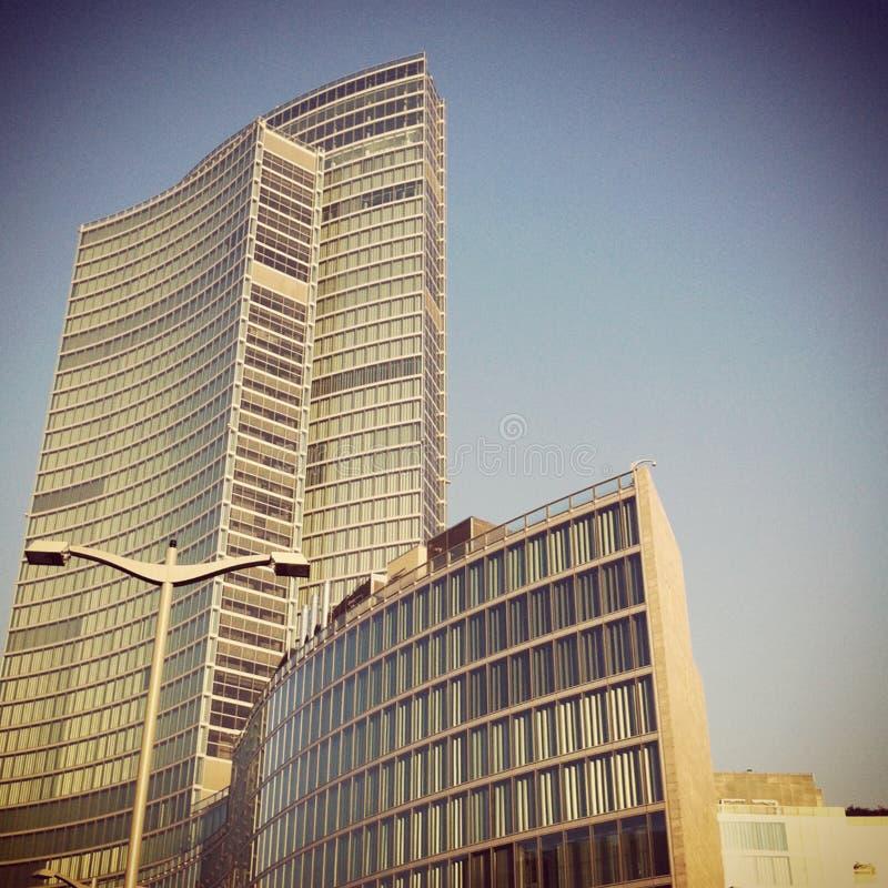 Regione för `-Palazzo della ` i Milan fotografering för bildbyråer
