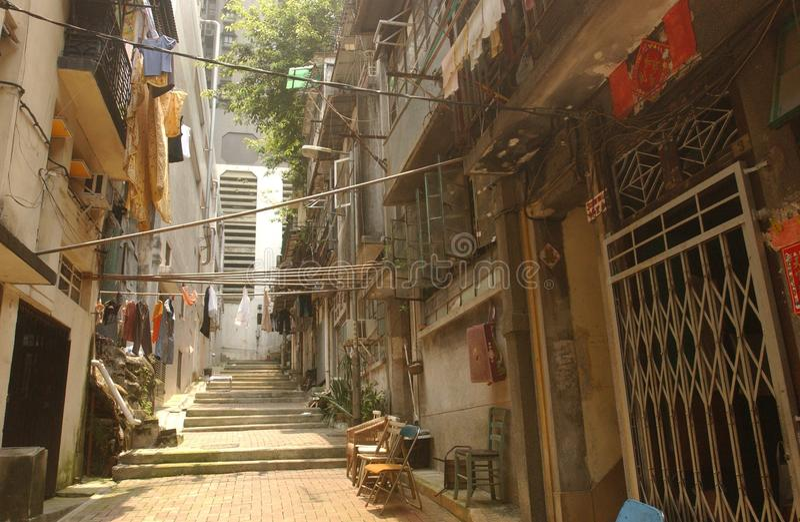 Regione residenziale di Hong Kong fotografia stock libera da diritti