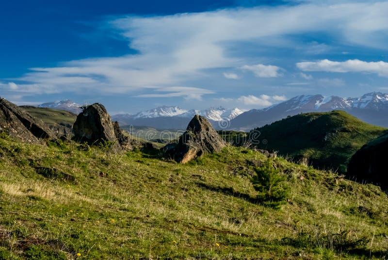 Regione selvaggia in Coyhaique fotografia stock