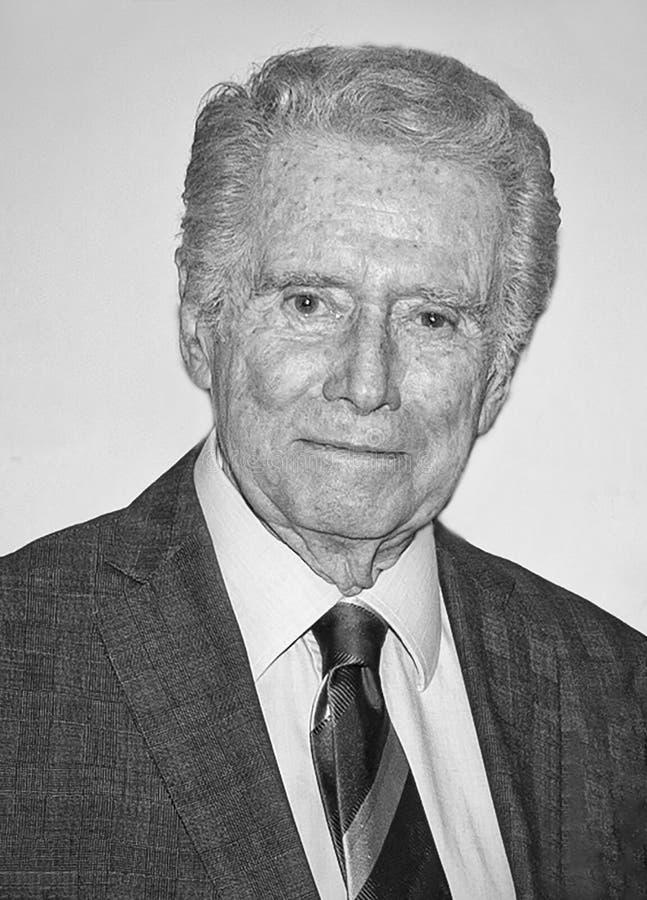 Regis Philbin Dies на 24 июля 2020 года в возрасте 88 лет стоковые изображения rf