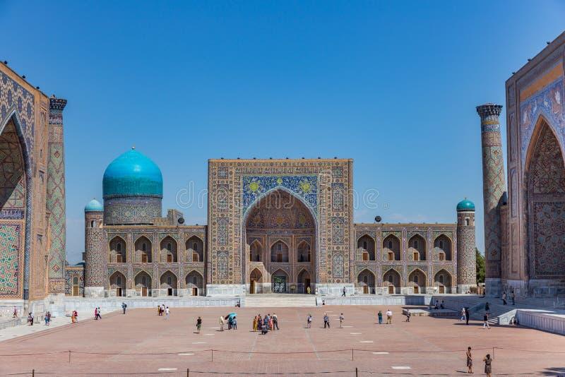 Registan w Samarkand, Uzbekistan zdjęcia stock