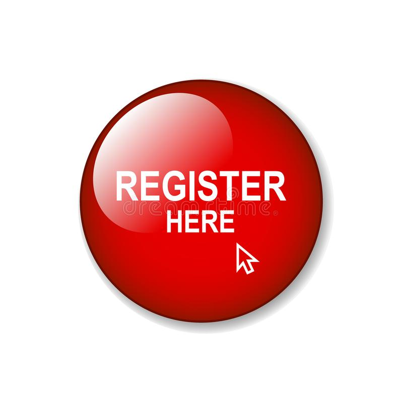 Register här stock illustrationer