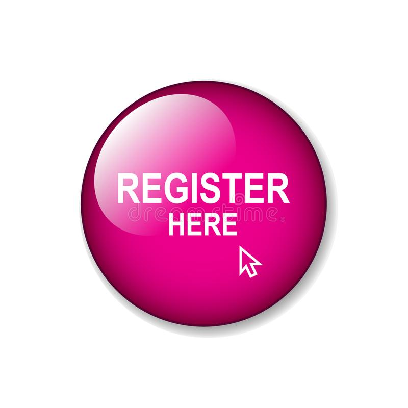 Register här vektor illustrationer