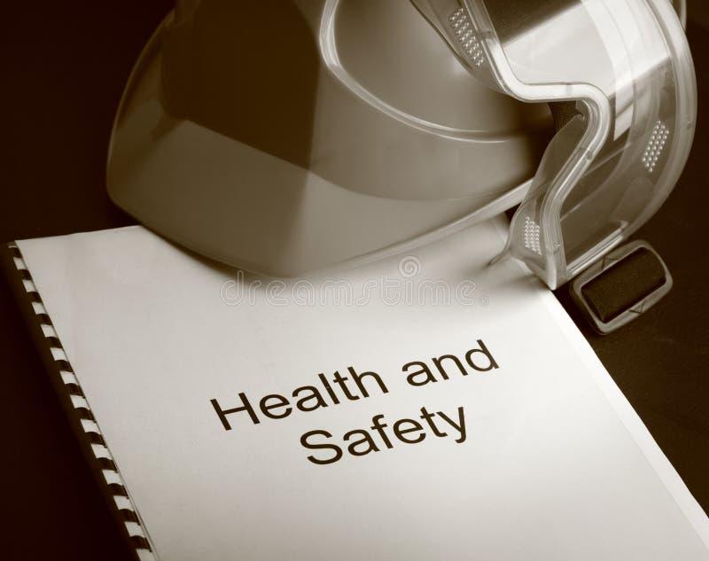 Register met beschermende brillen stock afbeelding