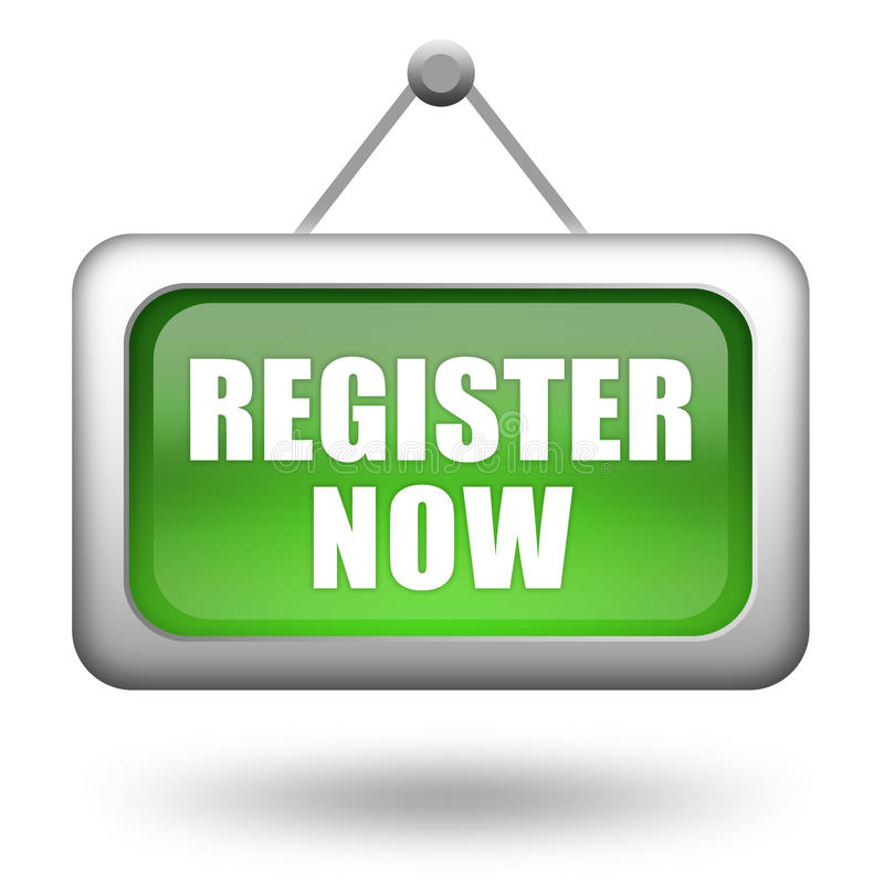 Register Now Stock Images