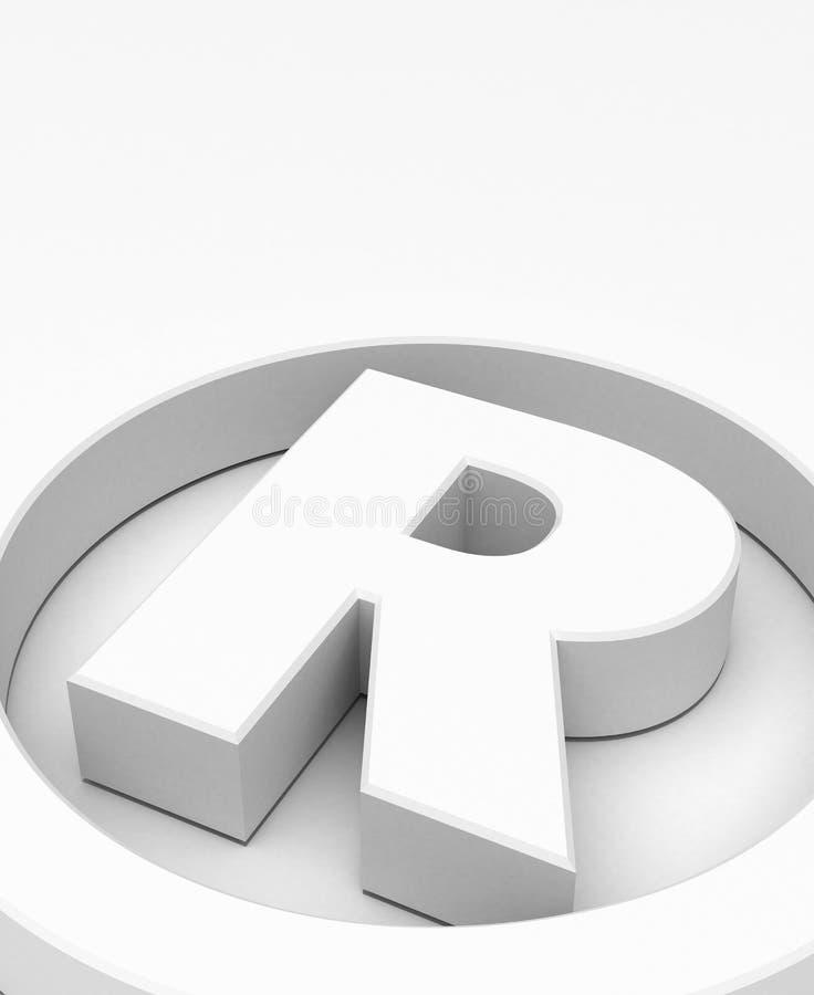 Register Symbol royalty free stock photo