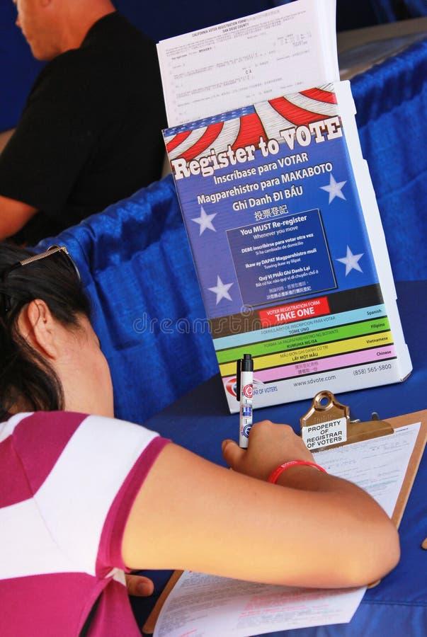 Download Register to Vote editorial photo. Image of privilege - 26437516