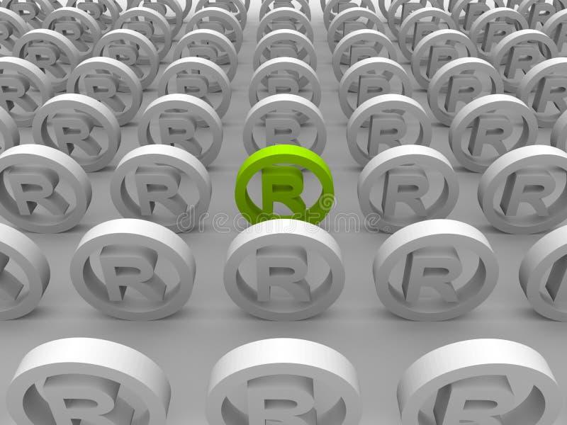 Download Registered Trademark Symbols Stock Illustration - Image: 11480367