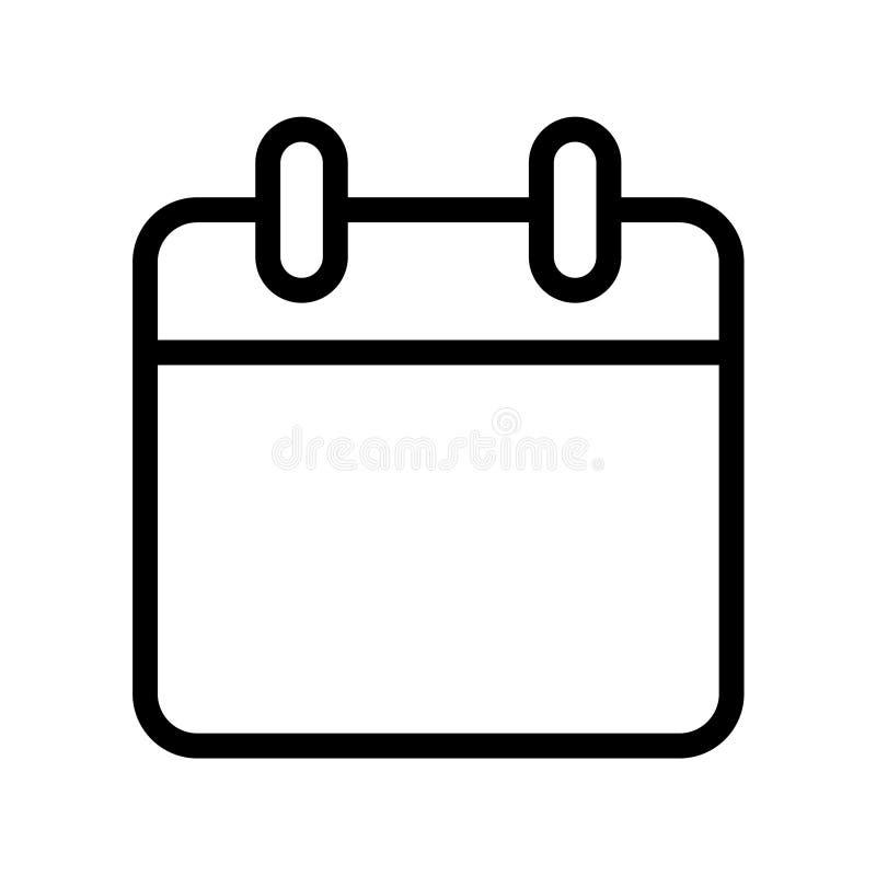 Registi l'icona illustrazione di stock