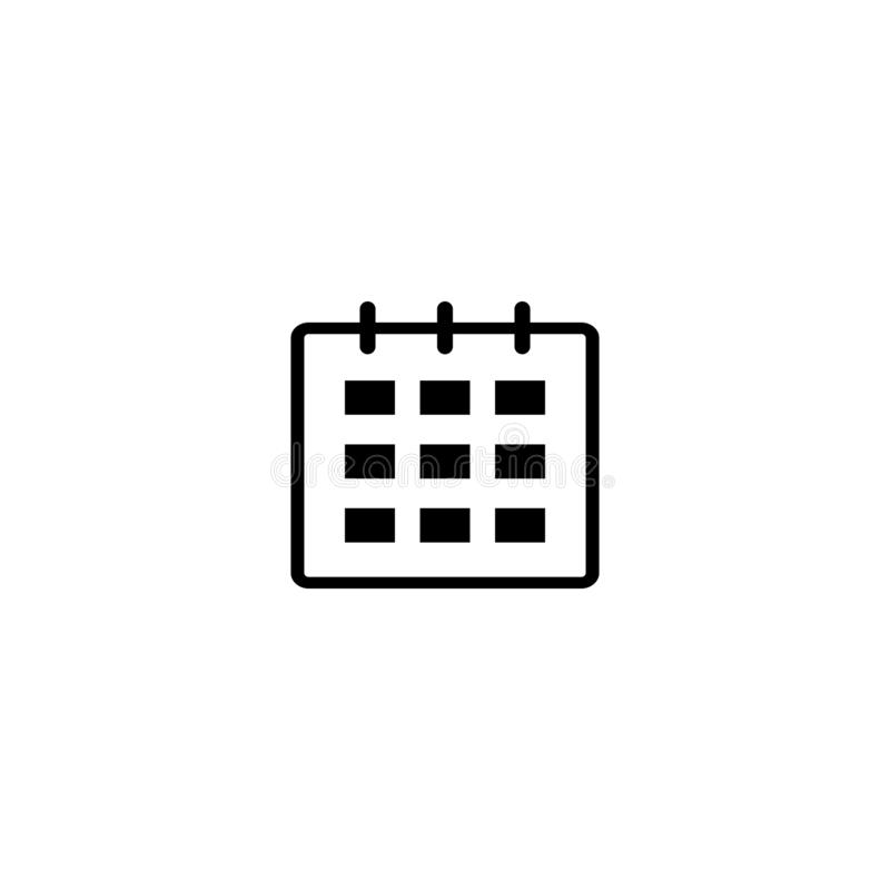Simbolo Calendario.Icona Di Settembre Di Mese Segno Di Simbolo Del Calendario