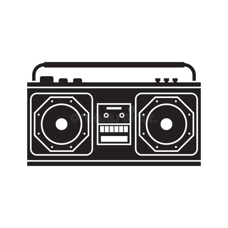 Registrador de cinta retro libre illustration