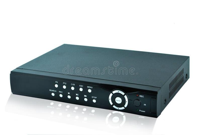 Registrador de DVR fotos de archivo libres de regalías