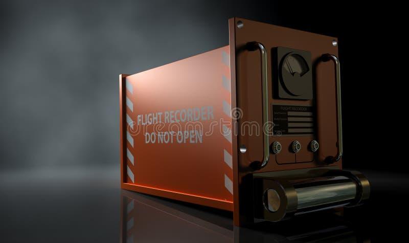 Registrador de vuelo fotos de archivo libres de regalías