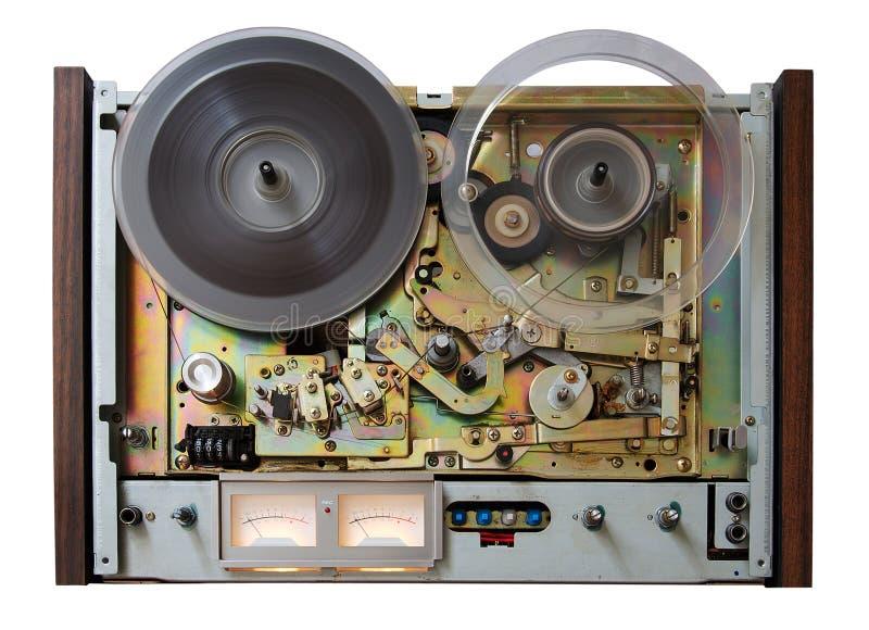 Registrador do analog do vintage fotografia de stock