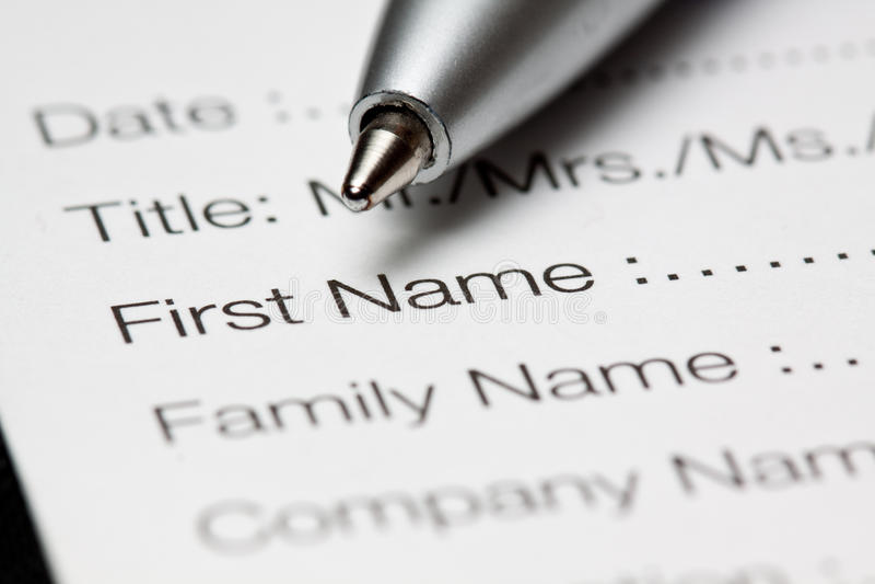 Download Registration form stock photo. Image of check, registration - 14231994