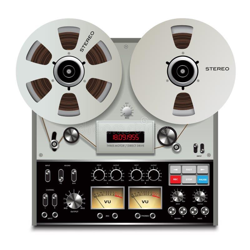 Registratore di cassetta audio royalty illustrazione gratis