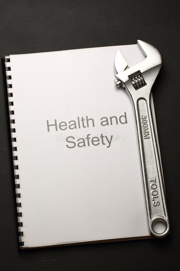 Registre de santés et sécurité photographie stock libre de droits