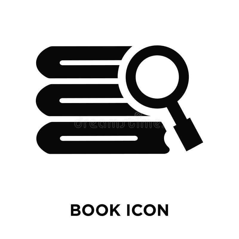 Registre o vetor do ícone isolado no fundo branco, conceito do logotipo de B ilustração stock