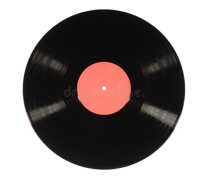 registrerad vinyl arkivbilder