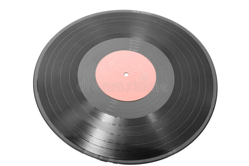 registrerad vinyl arkivfoto