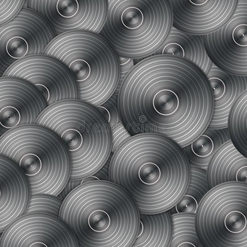 registrerar vinyl vektor illustrationer