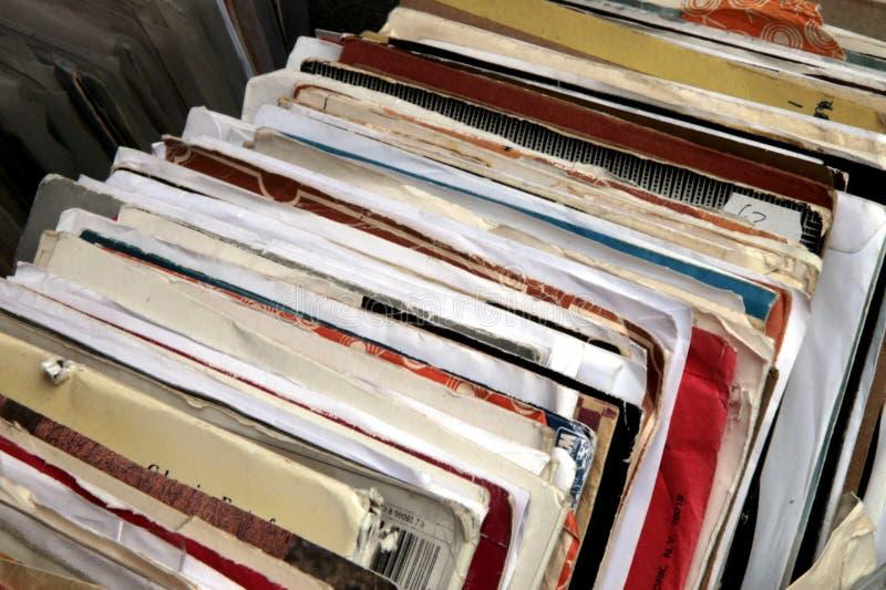 registrerar vinyl arkivfoton