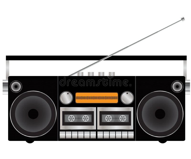 registreringsapparatband stock illustrationer