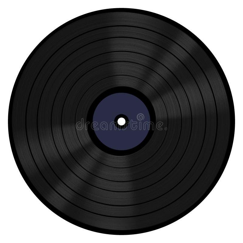 Registro de vinil 33 RPM foto de stock royalty free