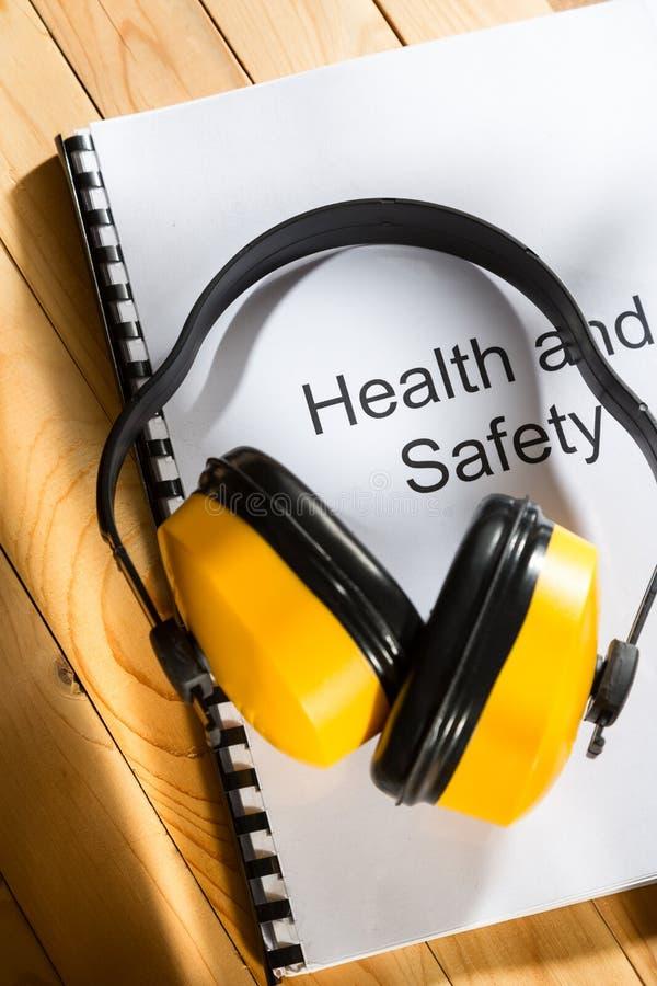 Registro di sanità e sicurezza fotografia stock libera da diritti