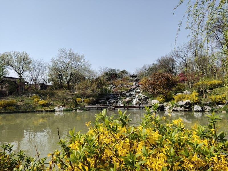 Registro do turismo da mola da cidade de China Guangxi Beihai fotografia de stock