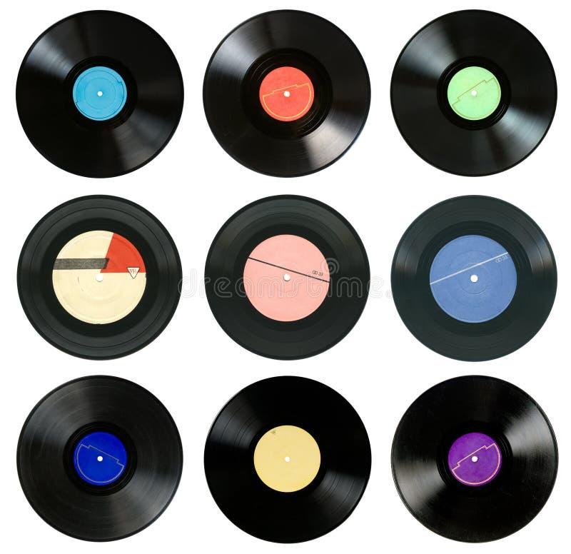 Registros de gramofone fotos de stock royalty free