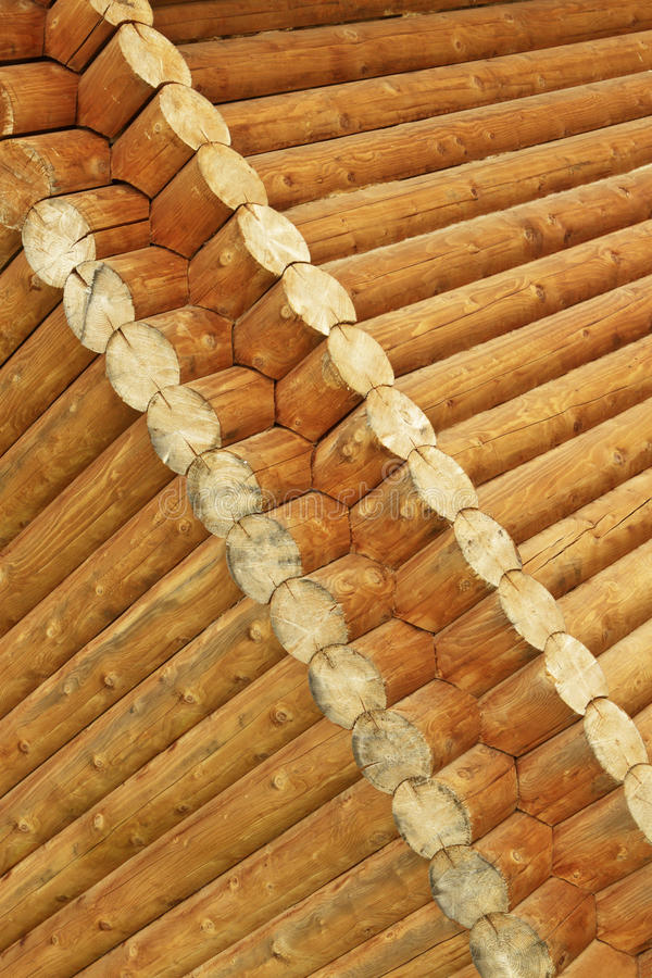 Registros de madeira imagem de stock