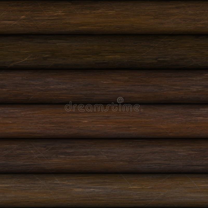 Registros de madeira ilustração stock