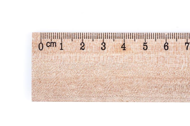 Regla de madera imagen de archivo
