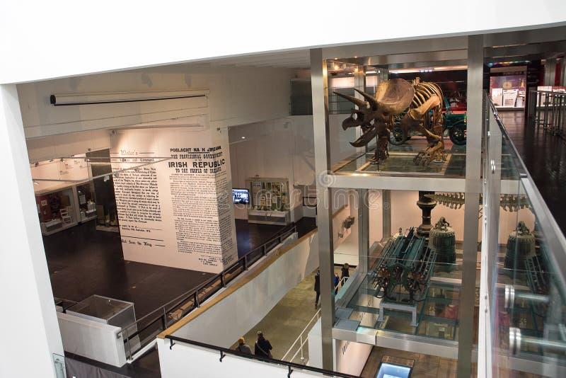 Reglanu muzeum W Belfast zdjęcia royalty free