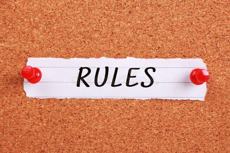 reglas fotos de archivo libres de regalías