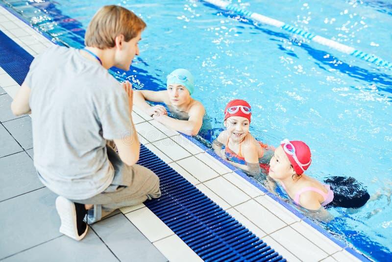 Regler av simning royaltyfria foton